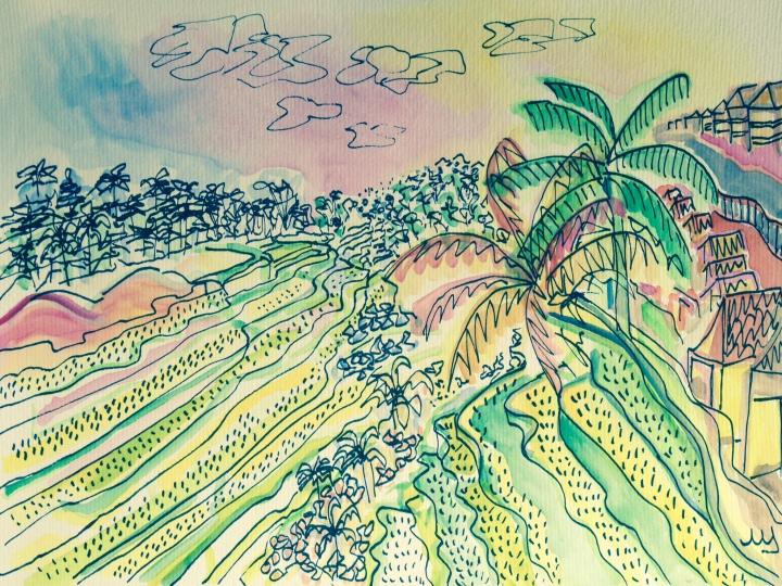 10. Terrazas de arros - Ubud. 27.09.2014