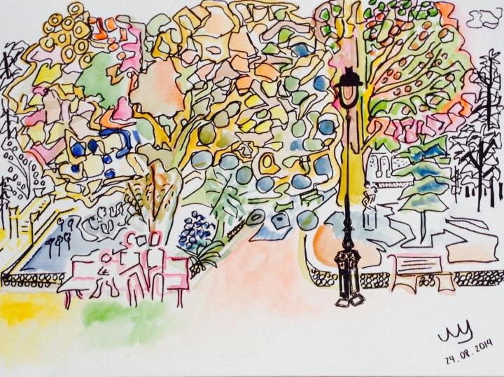 24:08:2014. Parc Monceau