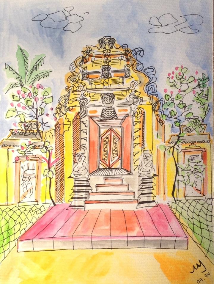9. Ubud Palace. 26.09.2014