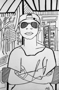 12. Tomy Aka, 19 años. Gili Air Santai Waiter. 13.09.2014