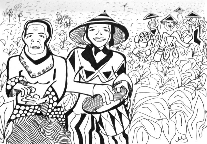 18. Dos campesinas de Lombok. 18.09.2014