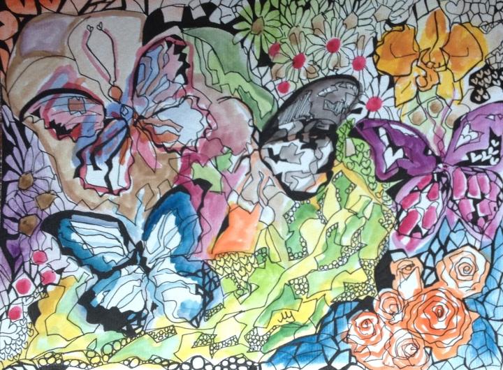 1. Mariposas de Gisella. 25.03.2015