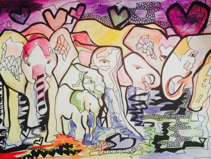 2. Familia de Elefantes