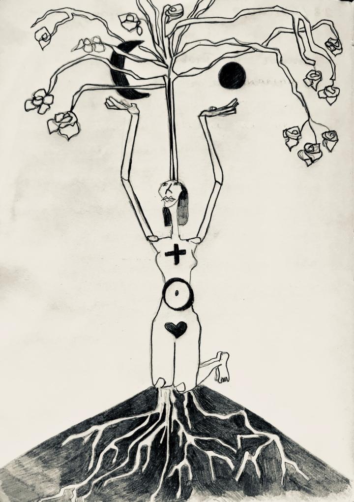 6. Mujer árbol